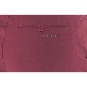Mammut Hiking Shorts Women merlot